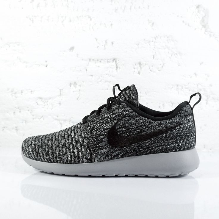 "NIKE WMNS ROSHE ONE FLYKNIT ""COOL GREY"" 