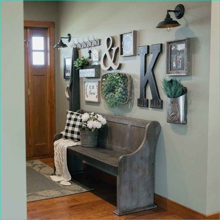 farmhouse wall collage ideas in 2020 farmhouse wall on wall art for home id=52120