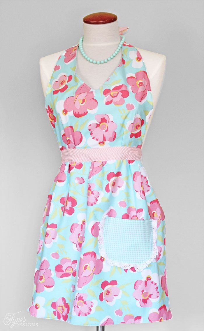 Free apron pattern- perfect for beginners