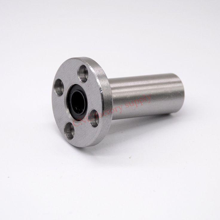 Free shipping LMF12LUU long type 12mm flange linear bearing CNC Linear Bush
