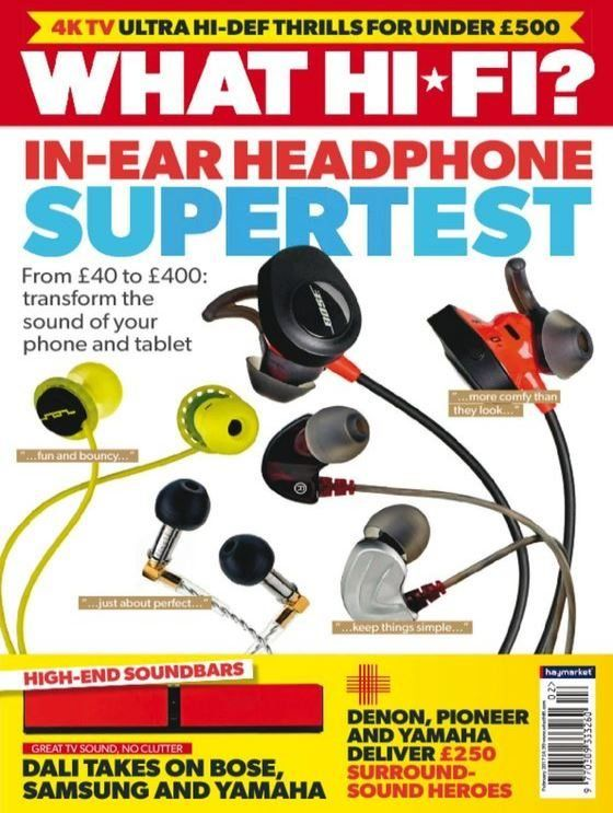 in this issue inear headphone supertest from 40 to 400