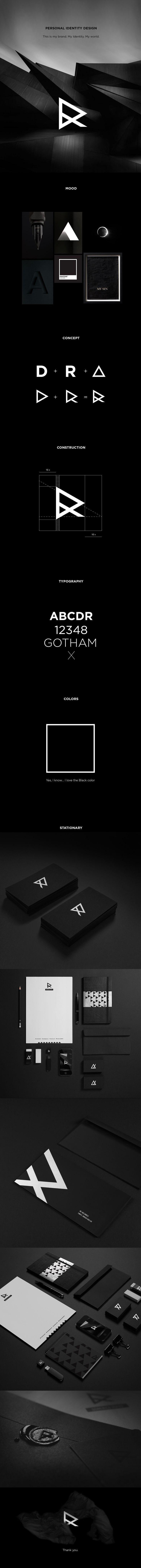 Personal Identity Design Studio of logo design and corporate id.Mokup:http://goo.gl/2Xm5P