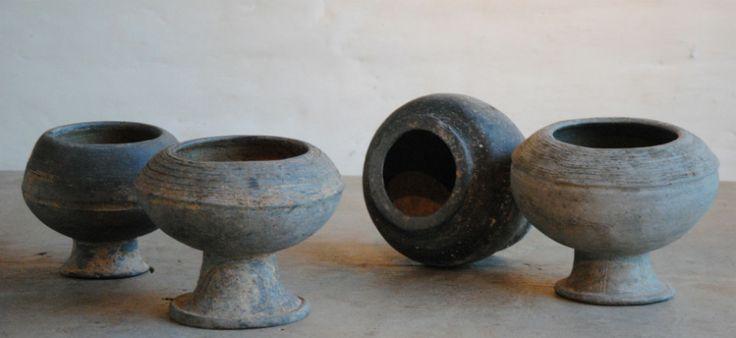 Khmer - Cambodia Black earthenware pottery www.garnier.be