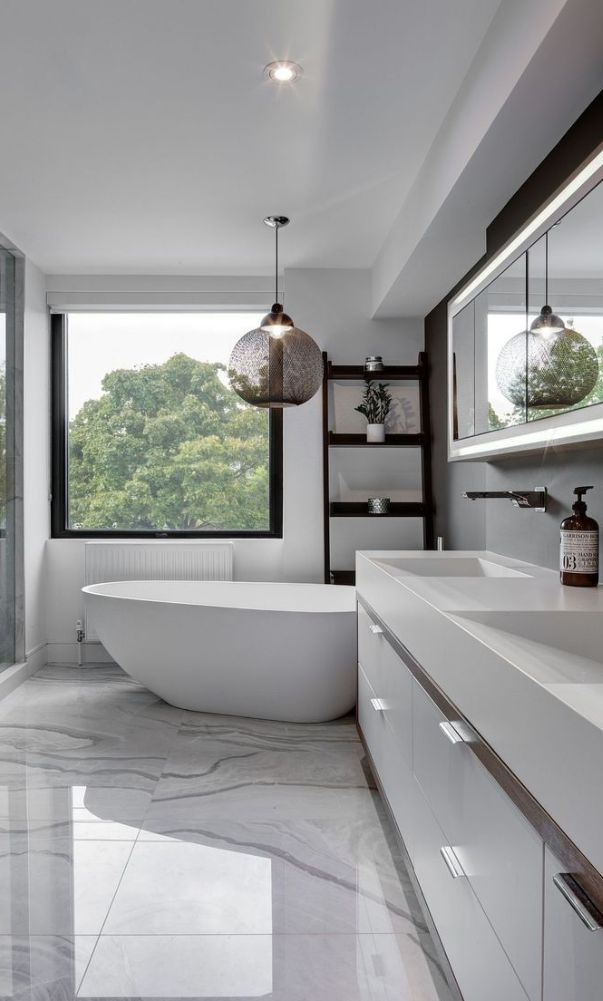 53 Small Trend And Cute Bathroom Decorating Ideas 2020 Part 24 Bathroom Interior Design Modern Bathroom Design Modern Interior Design