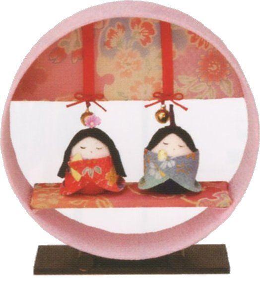 【ポイント還元率3%】京都 和匠ポラーコの雛人形       まどか飾り雛手作りちりめん細工 コンパクト  リュウコドウ ひなまつりを紹介。商品の購入でポイントがいつでも3%以上貯まって、お得に買い物できます♪
