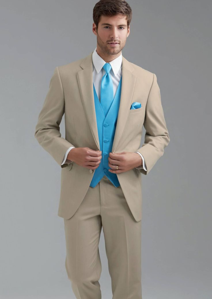 Tan Bartlett Two Button Notch by Allure-Men - Tuxedos