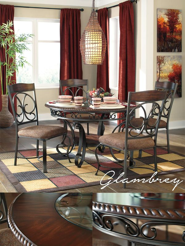 Ashley Furniture Glambrey Dining Room Collection