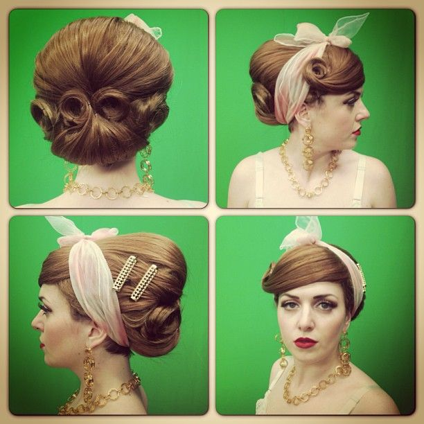How to make a vintage hairstyle sorry