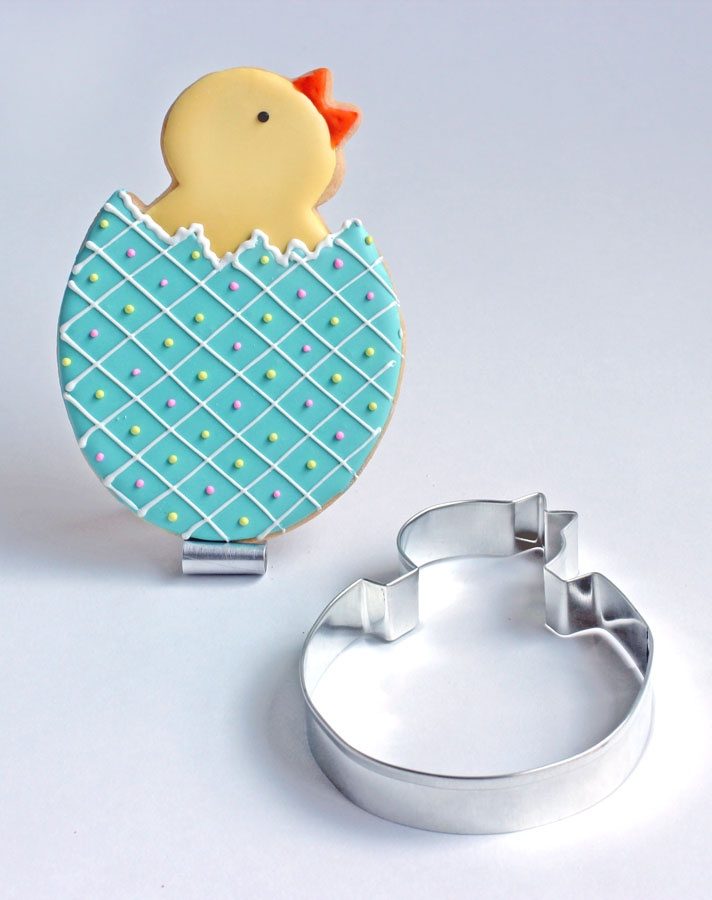 Hatching Chick Cookie - one fun chick -Baked Ideas