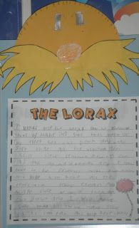 "A: This is a great formal assessment tool as it allows teachers to assess a child's complete writing process from their brainstorming skills to their ability to edit and publish work. I would use this assessment resource in my classroom through first reading the book ""The Lorax"" then asking my students to complete a   paragraph describing how they could help the Lorax. This assessment can also be easily intergraded into science or social study units in which involve environmental issues."