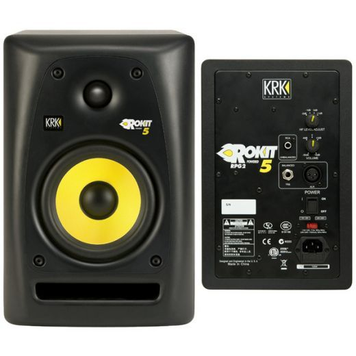"KRK Rokit 5's have all the connections you need for your computer or a professional recording studio - RCA, TRS, XLR and are ""Active"" meaning Built-in Amplifier"