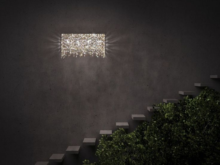 LINEA W Wall lamp by Manooi #crystalchandelier #lightingdesign #interior #chandelier #coollamps #luxury #Manooi