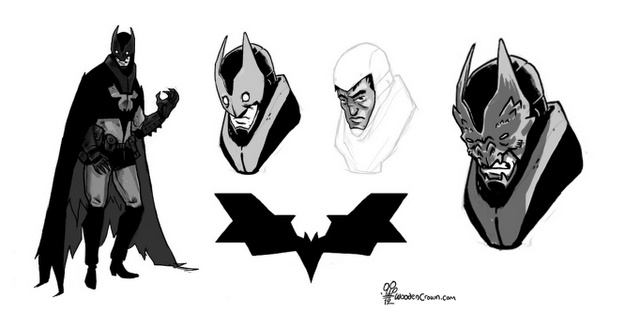 Best batman costume redesign I've ever seen by Michael Dialynas