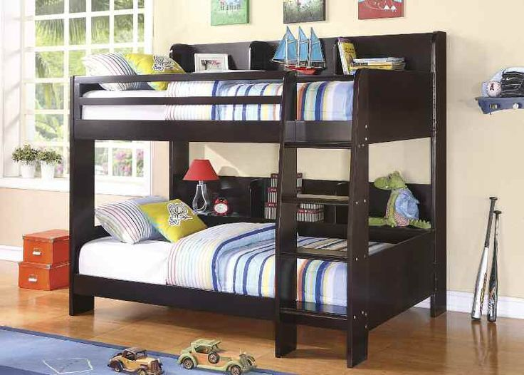 Barclay Collection Cappuccino Finish Twin/Twin Bunk Bed.