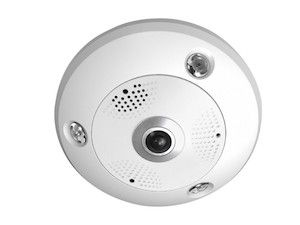 Elite Security NF6MPC Ultra HD Fisheye IP Security Camera with 6MP, Fisheye lens, ONVIF, and POE