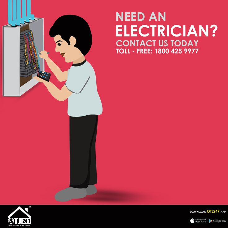 Need An Electrician? OTJ247.com Provides Electrical Services In Bangalore. Book Now : www.otj247.com | Toll - Free: 1800 425 9977 Play Store: https://play.google.com/store/apps/details?id=com.otj247.in iTunes:https://itunes.apple.com/in/app/otj247/id1116030697?mt=8 #handyman #electrician #electricalservices #electricproblem #Needelectrician #manfriday