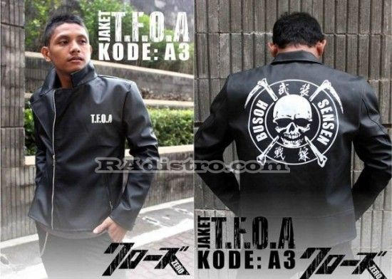 jual jaket crows zero online murah TFOA The Front Of Armament A 3 kulit model