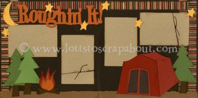 Roughin' It Scrapbook Page Kit [roughinit12] - $6.99 :: Lotts To Scrap About…