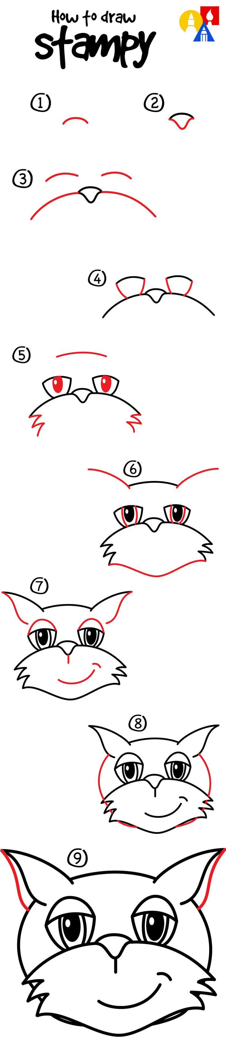 how to draw minecraft step by step