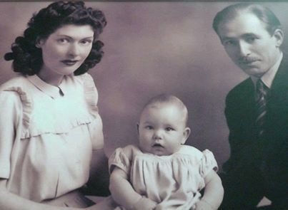 Baby Robert Plant | Led Zeppelin with his parents :)
