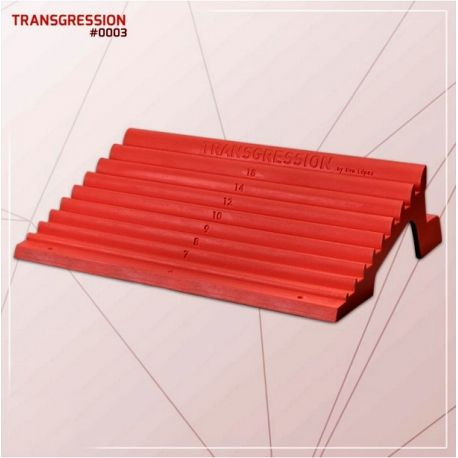 Fingerboard Transgression S4C, new design, lighter and polyurethane. Designed by Eva Lopez, perfect Board for advanced suspensions/isometrics with training plan included. FREE SHIPPING in our Climbing Shop (PENINSULA ONLY)