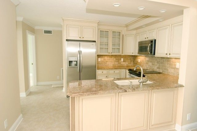 condo remodels | Condo Kitchen remodel Removed walls, opened up kitchen to maximize ...