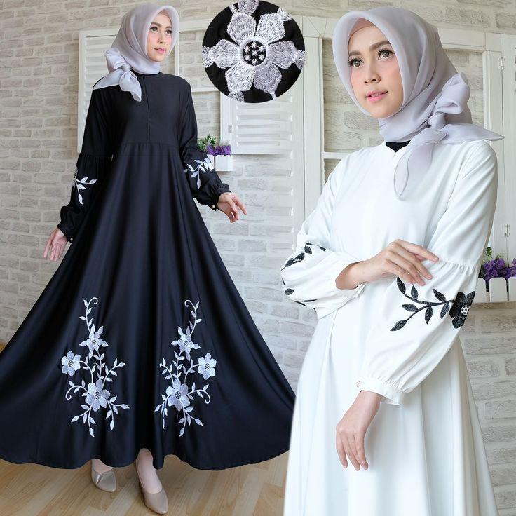 Gambar Maxi Dress Baloteli Bordir 600x600