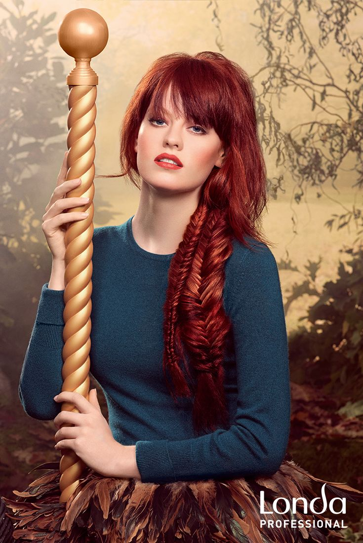 Bring out your bold and adventurous side by combining striking warm tones and cool reds this fall! #AW14 #youngatheart #redhair