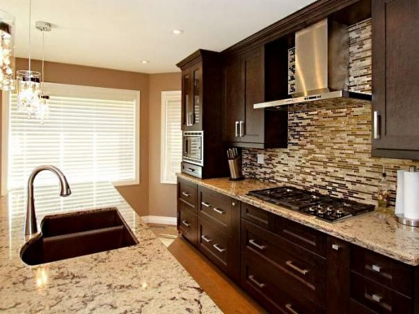 Photo of Brown Kitchen project in Hennepin County, MN by Granite Unlimited Inc