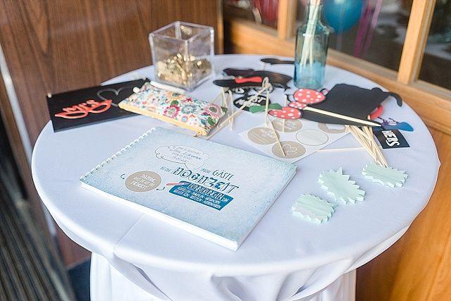 1000 images about g stebuch zur hochzeit guestbooks for Party utensilien