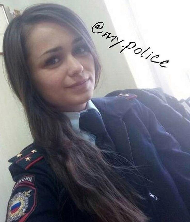 Selfie In Formal Police Uniform