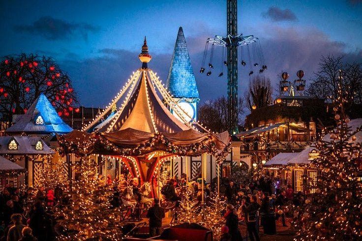 Tivoli Gardens Copenhagen Christmas Market 2021 Top 10 Magical Christmas Destinations To Visit In Europe Christmas Markets Europe Christmas Destinations Christmas Market