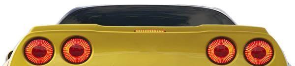 2005-2013 Chevrolet Corvette C6 Duraflex ZR Edition Wing Trunk Lid Spoiler - 1 Piece