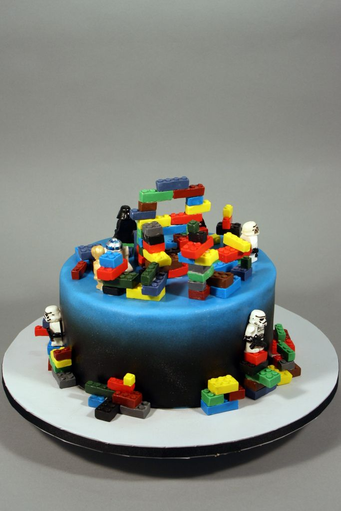 LEGO Star Wars 9th Birthday cake - a photo on Flickriver