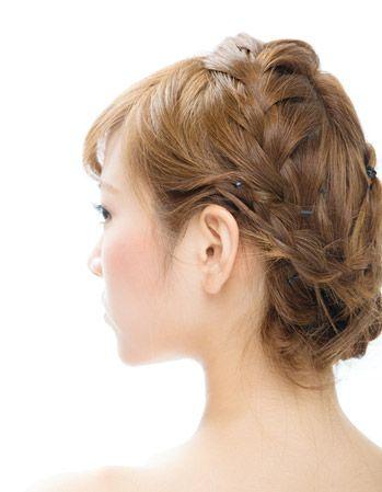 こだわりの編み込みヘア♡春の両家顔合わせ・結納におすすめの髪型一覧♡