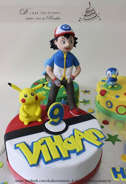 Birthday Bash With Pokemon Edible Toppers Pikachu And