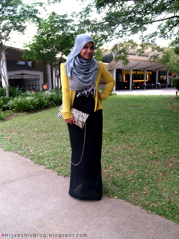 Hijab Style by Aishah Amin | Hijab Chic