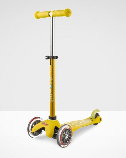 Mini Micro Deluxe Scooter Yellow| Micro Scooters UK