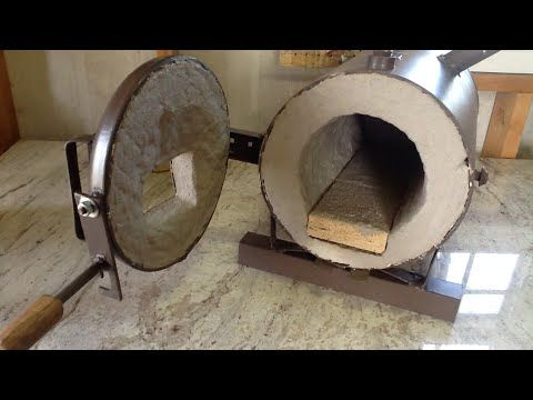 Making a Custom Blacksmith Propane Forge - All