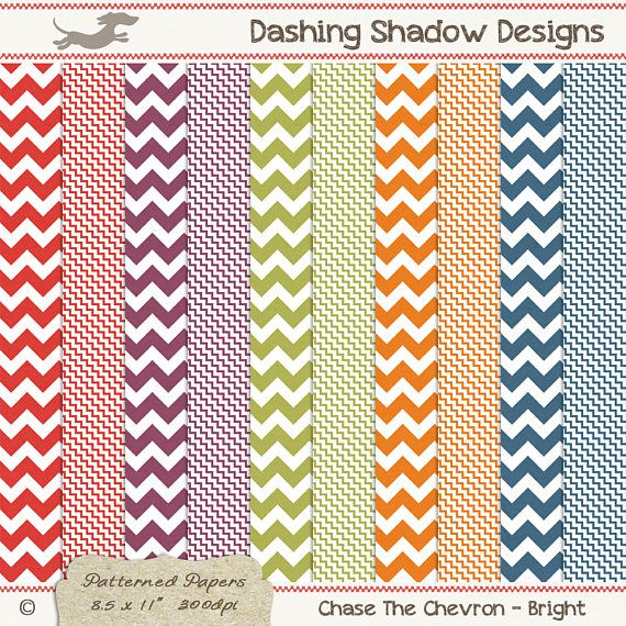 A4 Chase The Chevron in Bright Colours Digital Printable Scrapbook Craft Paper | Patterns: Chevron, Zig Zag. This instant download digital paper pack includes ten A4 papers with two different chevron designs in five bright colours which are exclusive to my A4 collection - Cranberry, Fuchsia, Grass, Mandarin and Sapphire. All sheets have a very subtle and smooth texture, designed to look like paper you'd find in any good quality stationery store.