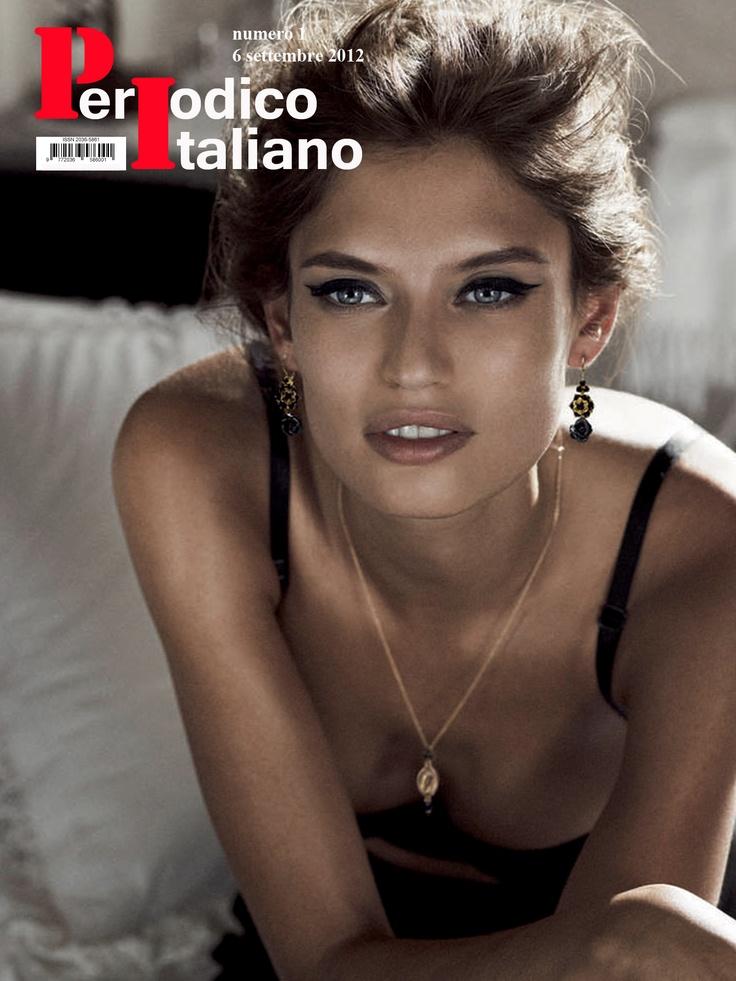 Copertina di prova con Bianca Balti della nuova rivista «PeriodicoItaliano» in uscita a settembre.