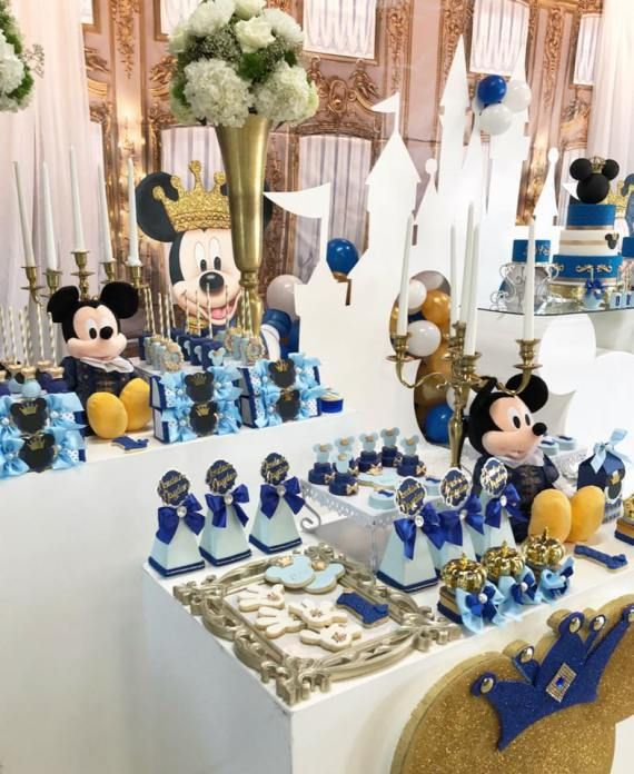 Mickey The Prince First Birthday Birthday Party Ideas For Kids And Adults Mickey Mouse First Birthday Mickey Mouse Baby Shower Mickey Birthday Party