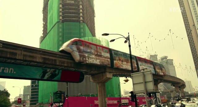 Malaysia Pilihan Lokasi Drama Korea - On the Way to the Airport - www.sayaiday.com