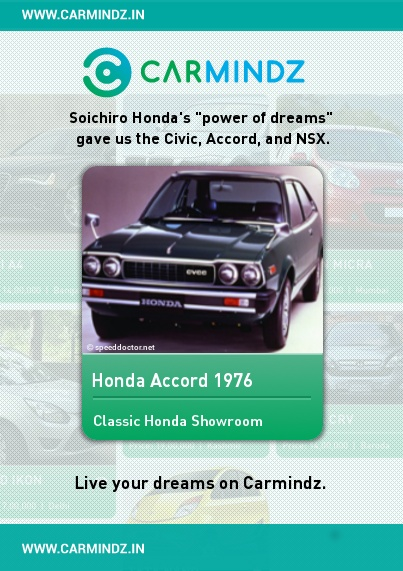 From a young age, Honda's founder, Soichiro Honda (17 November 1906 – 5 August 1991) had an interest in automobiles. He worked as a mechanic at the Art Shokai garage, where he tuned cars and entered them in races.In 1937, with financing from an acquaintance, Kato Shichirō, Honda founded Tōkai Seiki (Eastern Sea Precision Machine Company) to make piston rings working out of the Art Shokai garage.  Source: en.wikipedia.org/wiki/Honda