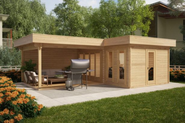 Gartenhaus Mit Terrasse Gartenhaus Mit Terrasse Kaufen Grosse