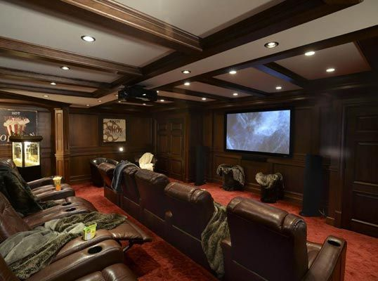 185 Best Media Rooms & In-Home Theaters Images On