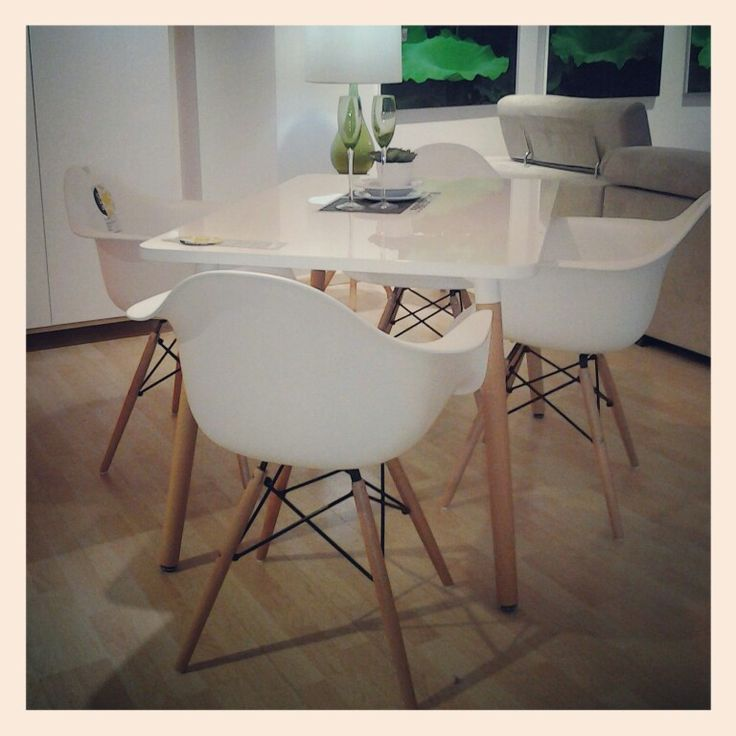11 best salas y comedores images on pinterest dining rooms green decoration and furniture - Comedores minimalistas ...