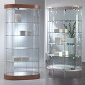 Beautiful Glass cabinets