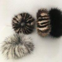 Huge mink scrunchies