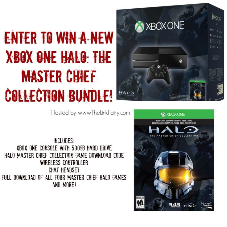XBOX ONE Halo: The Master Chief Collection Gaming Bundle Giveaway